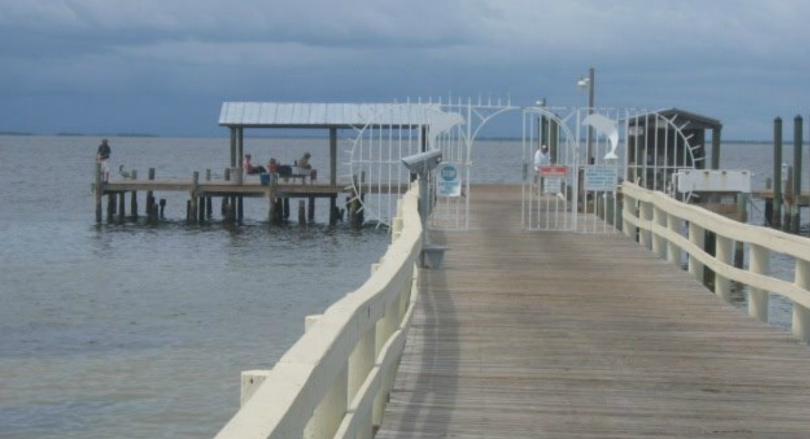 Document moved for Bokeelia fishing pier