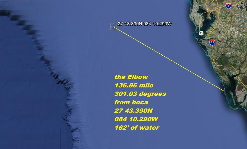 Fishing reefs locationslatitude longitude fishing information 15 fathom hole sciox Gallery