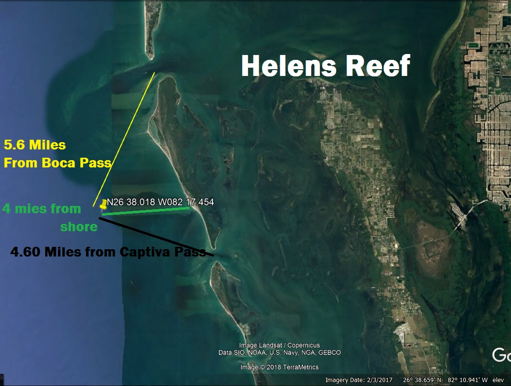Florida Reefs And Wrecks Map.Fishing Reefs Locations Latitude Longitude Fishing Information